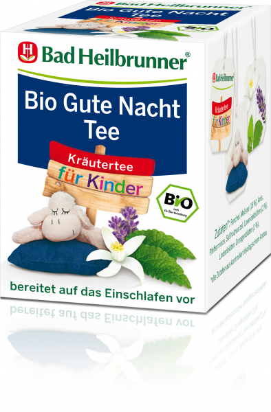 bio gute nacht tee f r kinder bad heilbrunner online shop. Black Bedroom Furniture Sets. Home Design Ideas